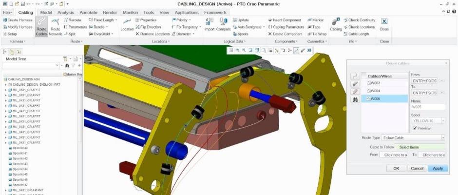 Kablolama ve Kablo Donanımı için CAD Aracı